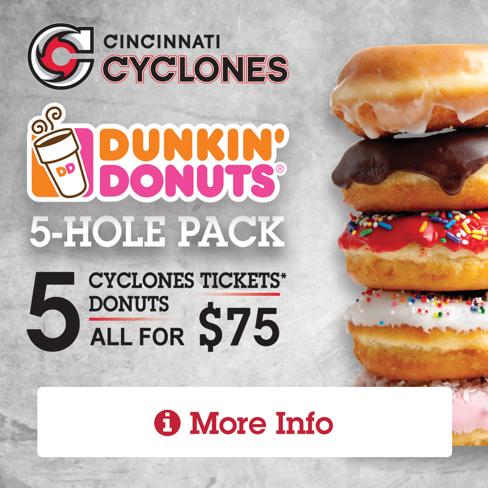 Cyclones 5-Hole Package