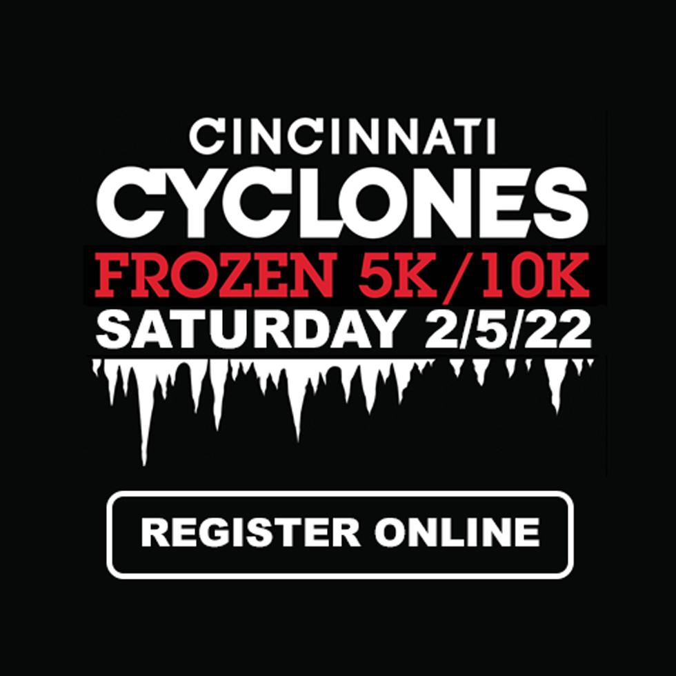 Cincinnati Cyclones Frozen 5K & 10K