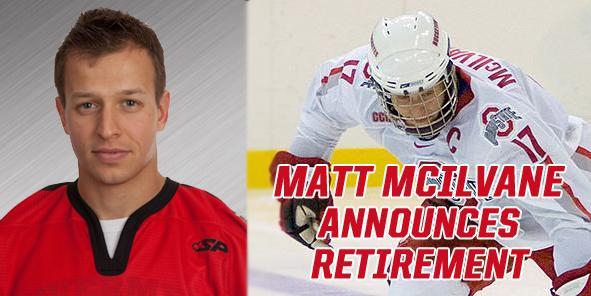 Matt McIlvane Announces Retirement from Hockey