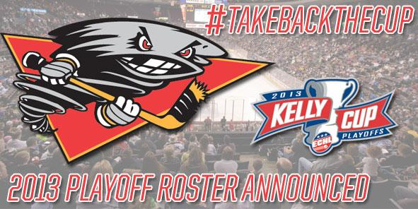 Cyclones Announce 2013 Kelly Cup Playoff Roster