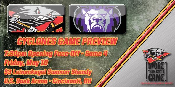 Cyclones Game Preview - Cincinnati vs. Reading
