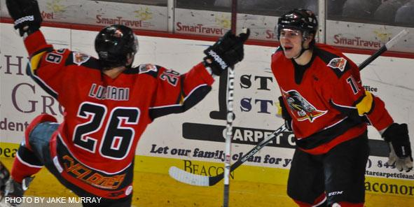 Cyclones Rally to Clip Wings, 5-3