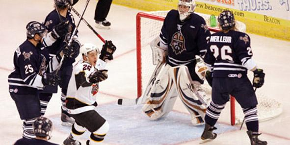 Cyclones Fall to Greenville in Shootout, 4-3