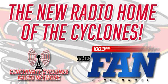 Cyclones Radio Network to Broadcast on FM 100.3 The FAN