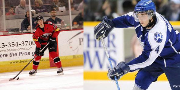 Cyclones Receive Hazen and McFadden from San Antonio, O'Hanley Recalled