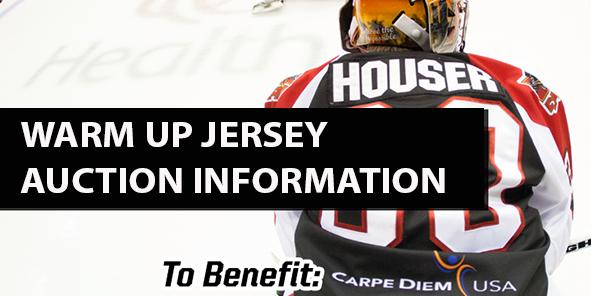 Warm Up Jersey Auction Details