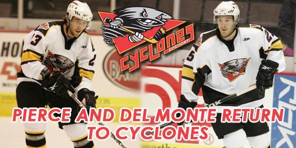 Pierce, Del Monte Return to Cincinnati