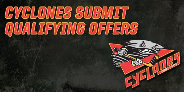Cyclones Submit Qualifying Offers to Eight Players