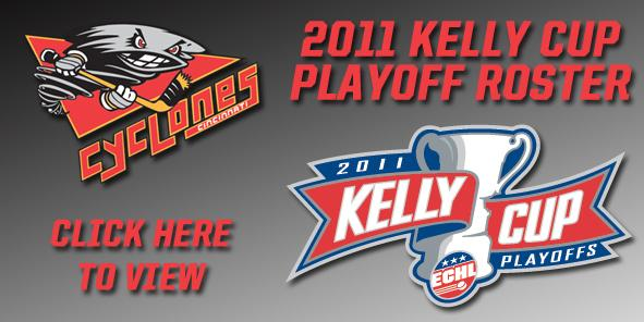 Cyclones Announce 2011 Kelly Cup Playoff Roster