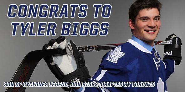 Congratulations to Tyler Biggs!!