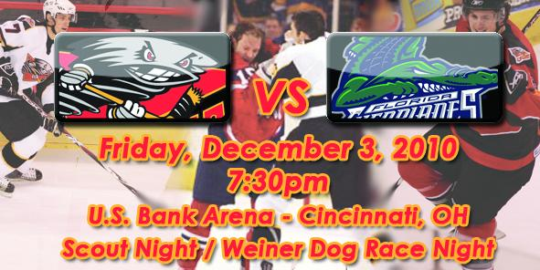 Cyclones Game Preview: Cincinnati vs. Florida - 12/3/10