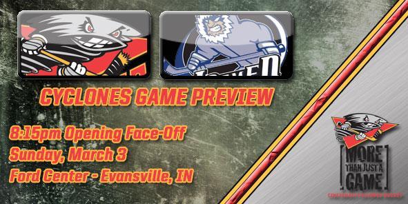 Cyclones Game Preview - Cincinnati at Evansville