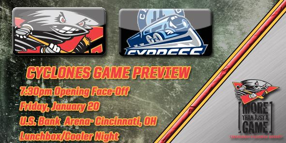 Cyclones Game Preview - Cincinnati vs. Chicago