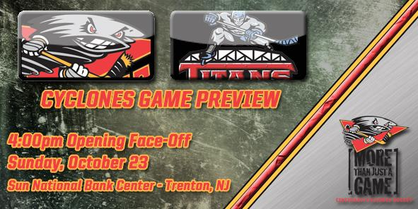 Cyclones Game Preview - Cincinnati at Trenton