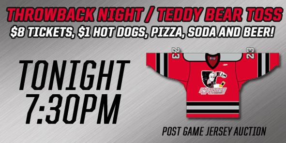 Join us for Throwback Night - TONIGHT!