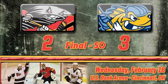 Walleye Sneak Past Cyclones in Shootout, 3-2