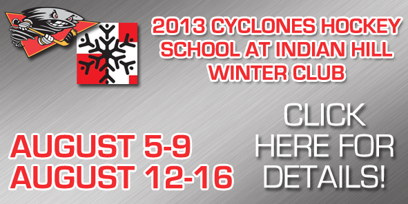 Introducing the 2013 Cyclones Hockey School at Indian Hill Winter Club!
