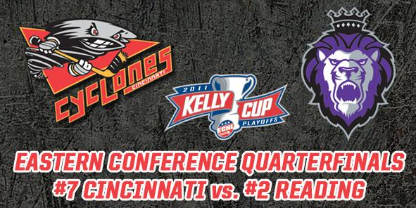 Cyclones Battle Reading Royals in First Round of Kelly Cup Playoffs