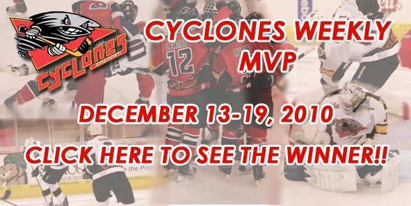 Your Cyclones MVP of the Week is.....