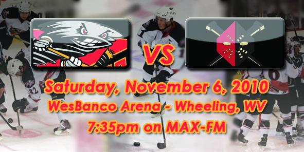 Cyclones Game Preview - Cincinnati vs. Wheeling - 11/6/10