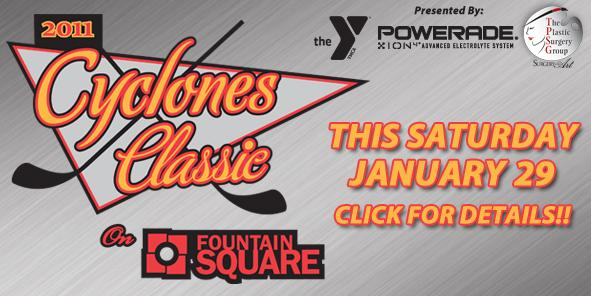 "Cyclones Announce Inaugural ""Cyclones Classic"" at Fountain Square"