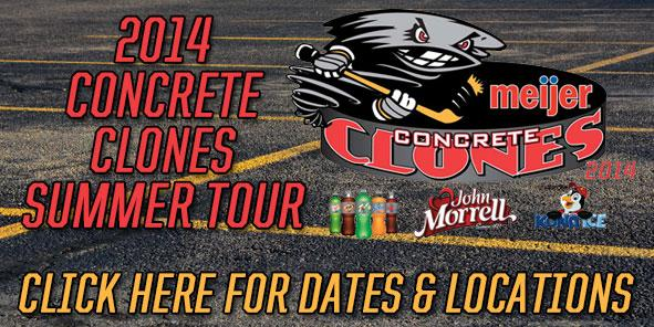 Cyclones Announce Meijer Concrete Clones Summer Tour