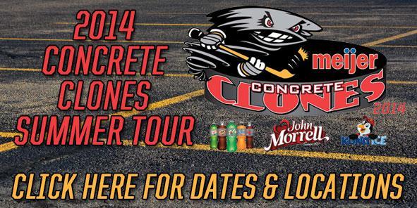 Cyclones Announce Meijer Concrete Clones Summer Tour