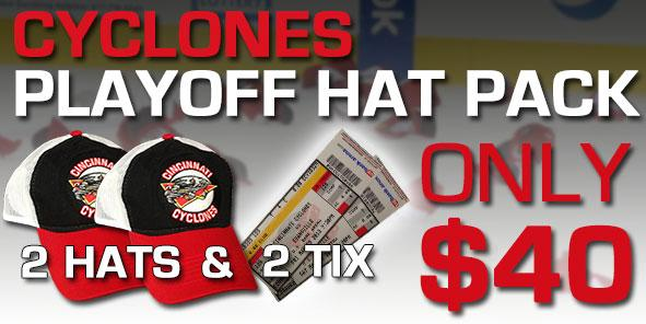 Cyclones Playoff Hat Pack!