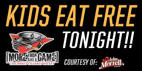 Kids Eat FREE TONIGHT!