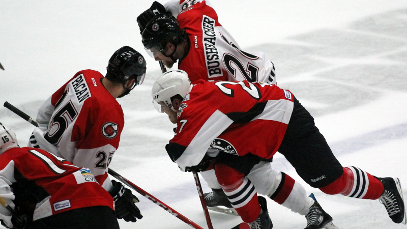Cyclones Take Home 5-3 Preseason Win Over Wheeling