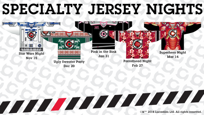 Cyclones Unveil Specialty Jersey Designs