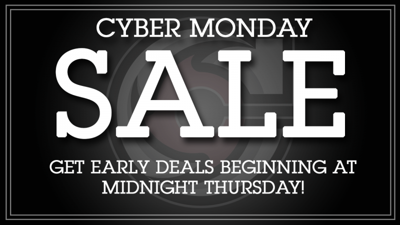 Cyber Monday Is Coming!