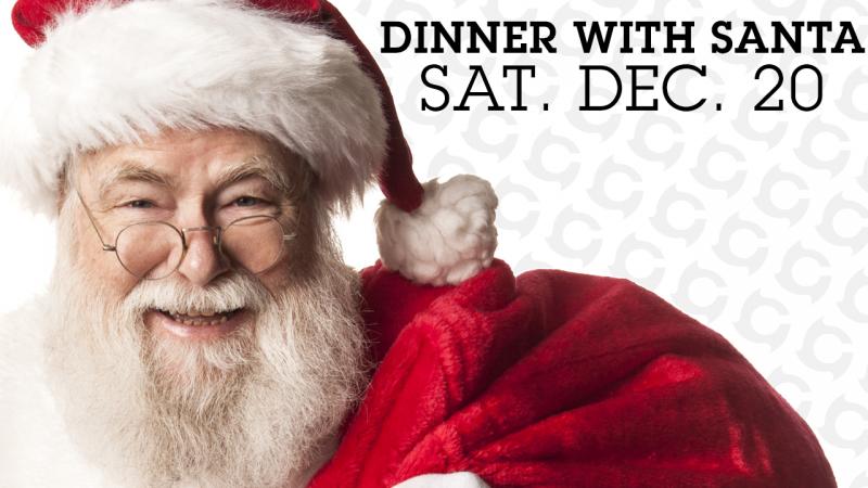 Dinner With Santa - Sat Dec 20