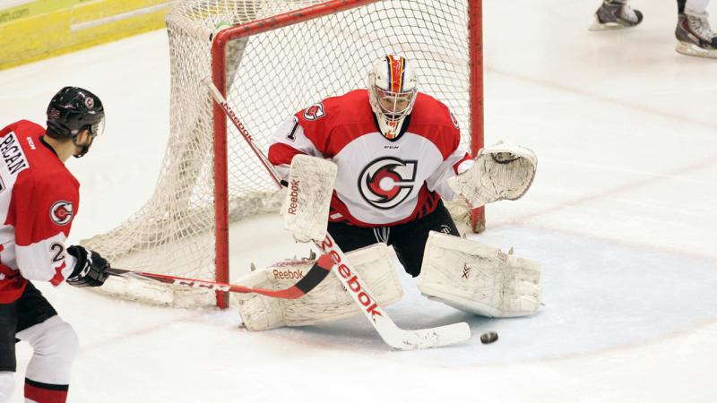 Sam Brittain Named CCM ECHL Goaltender of the Week
