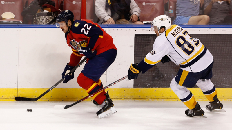 Anthony Bitetto Makes NHL Debut with Nashville