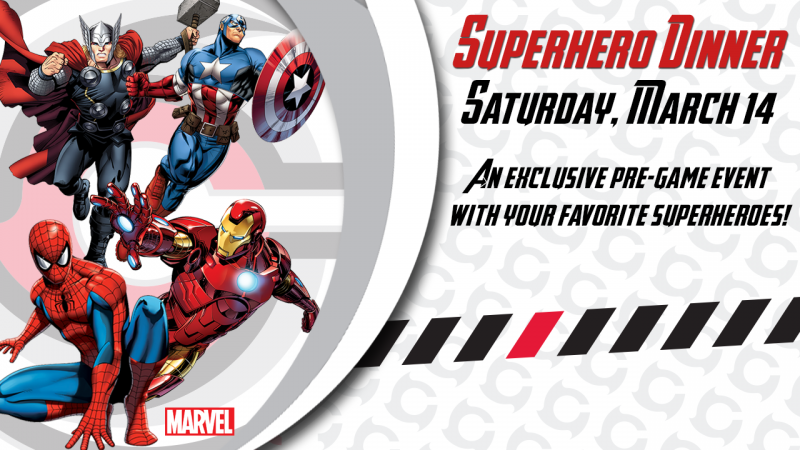 Introducing our Superhero Dinner - Sat, March 14