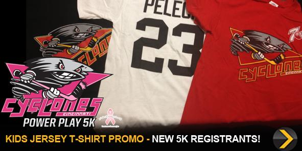 TODAY ONLY: Kids Jersey T-Shirt with 5K Registrations