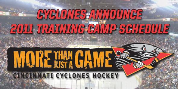 Cyclones Kick Off 2011 Training Camp October 1