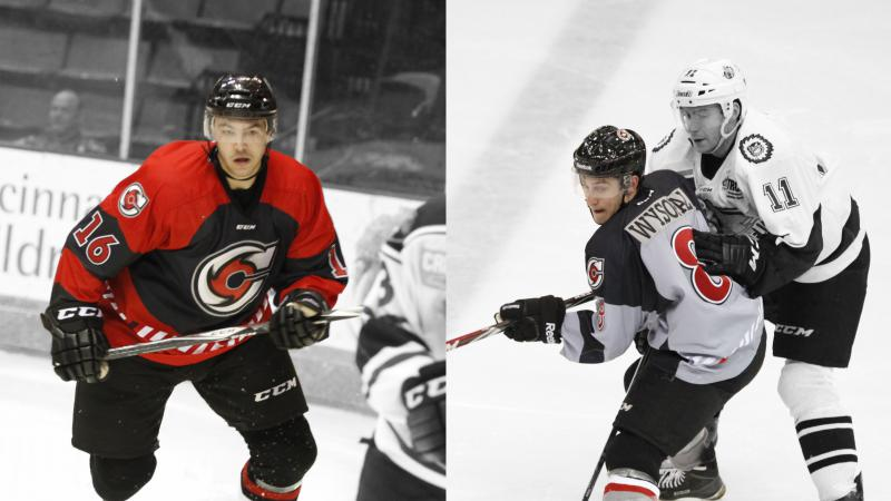 Cyclones Bring Back Perry and Wysopal