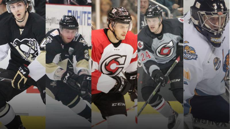 Five Invited To AHL Camps