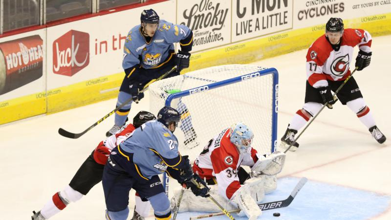 CYCLONES GET CHANCES LATE, ULTIMATELY FALL IN SHOOTOUT