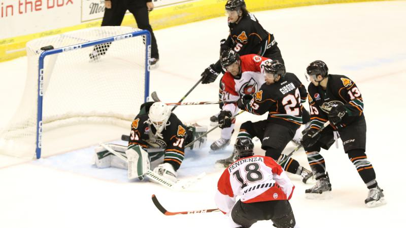 PENDENZA NETS TWO IN THROWBACK NIGHT WIN