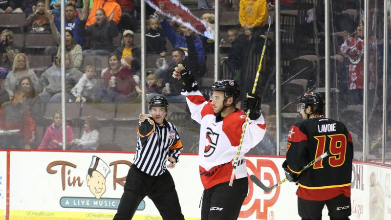 WILSON NETS LONE GOAL AS CYCLONES FALL AT HOME