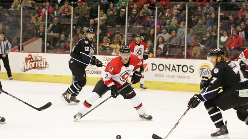 THIRD PERIOD COMEBACK FALLS SHORT AS CYCLONES LOSE IN GREENVILLE