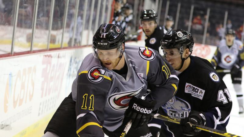 RECAP: CYCLONES FALL IN FRONT END OF HOME-AND-HOME
