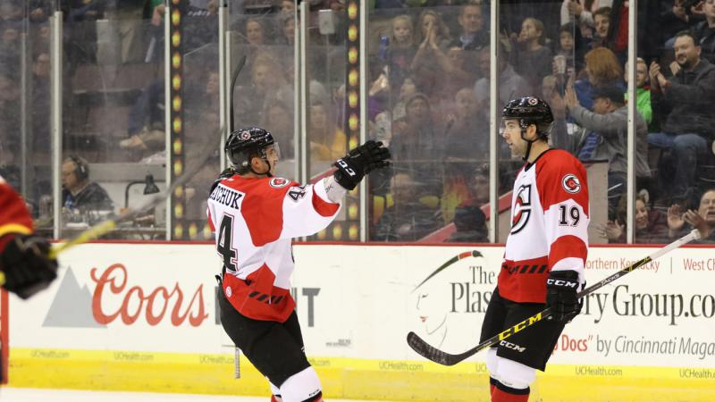 CYCLONES SUFFER RARE REGULATION HOME LOSS