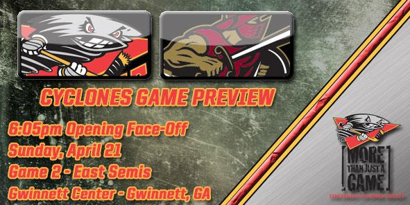 Cyclones Game Preview - Cincinnati at Gwinnett