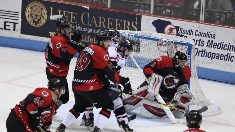 RECAP: CONWAY STRONG IN NET, HOWEVER CYCLONES FALL ON THE ROAD