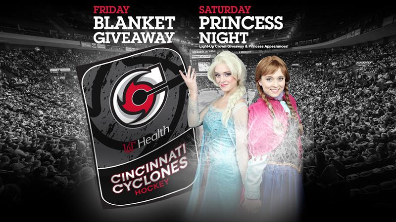 Blanket Giveaway and Princess Night This Weekend