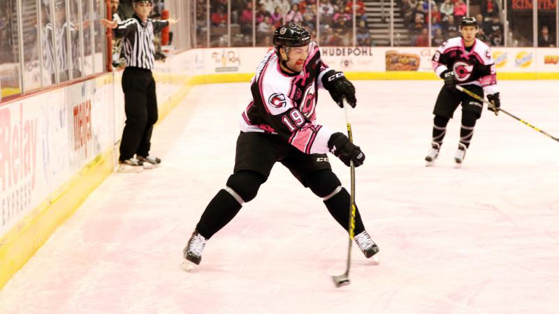 RECAP: DOWNING PLAYS OVERTIME HERO AT PINK IN THE RINK